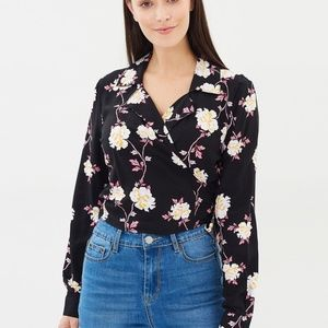 Cotton On | NWT Rebecca Shirt juddy floral print